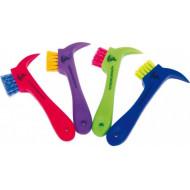 Cure-pied avec brosse