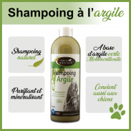 Shampoing naturel à l'argile verte