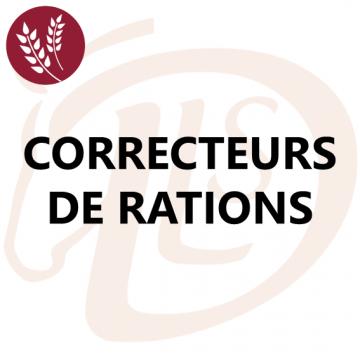 Correcteurs de Rations