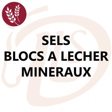 Sels, Blocs à Lécher et Minéraux